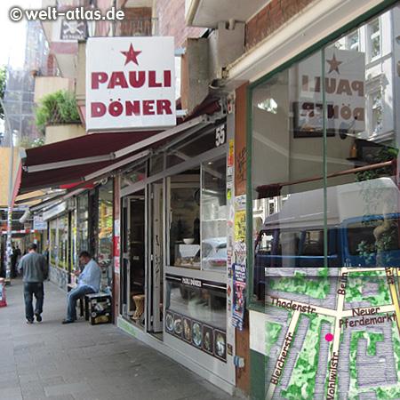 Pauli Döner in der Wohlwillstraße