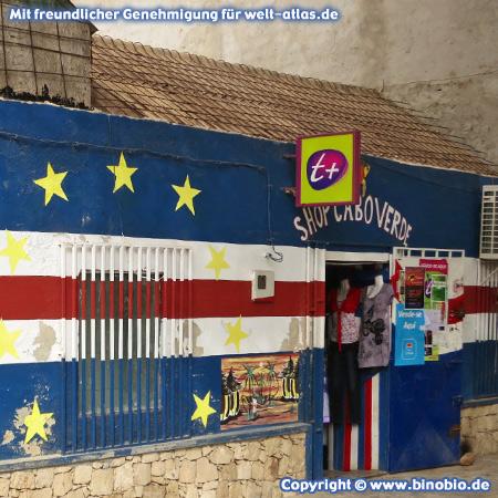 Laden in Sal Rei auf Insel Boa Vista, Kapverden – Fotos: Reisebericht Kapverden, kapverden.binobio.de