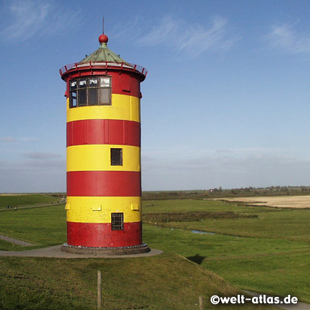 Lighthouse Pilsum, Position: 53° 29′ 52,5″ N, 7° 2′ 44,4″ O