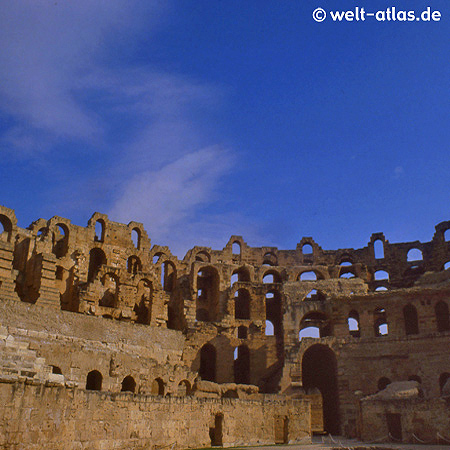 Römischen Amphitheaters El Djem, Weltkulturerbe