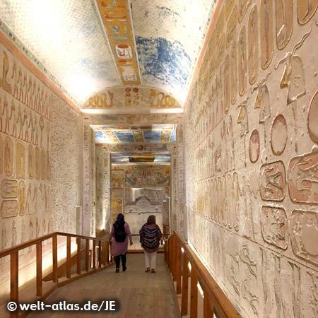 KV 2, Tomb of Ramses IV, the 20th dynasty