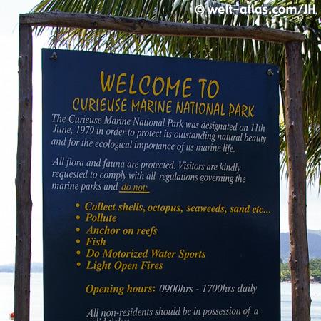 Curieuse Marine National Park, Seychellen