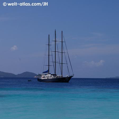 Segeltörn, SY Sea Star, Seychellen