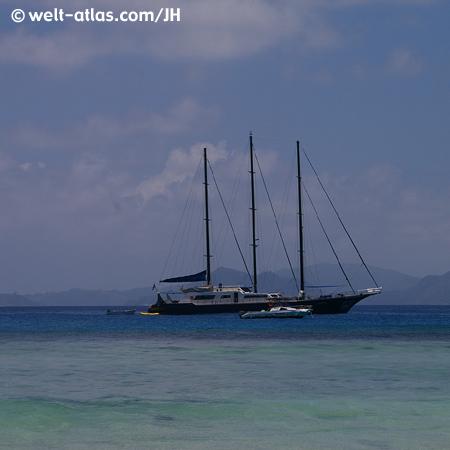 Törn mit der SY Sea Star, Seychellen