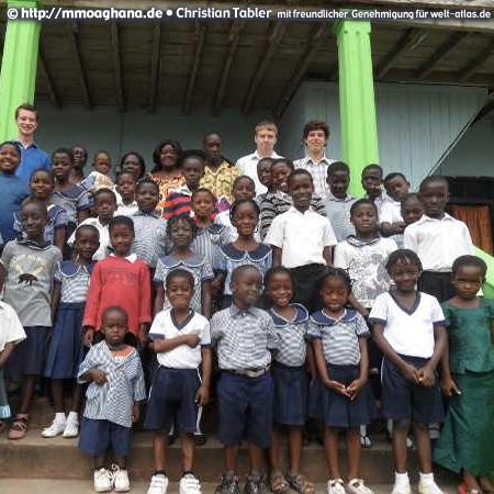 Schulkinder in Ghana (Hilfe für Ghana, http://mmoaghana.de)