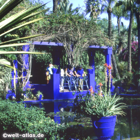 Photo of jardin majorelle marrakech world atlas for Jardin ysl marrakech