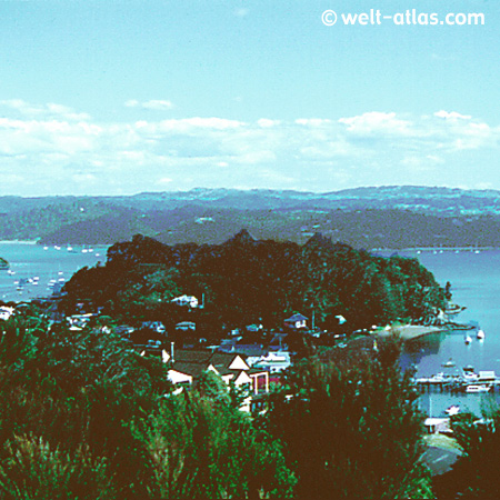 Russell, Bay of Islands, Neuseeland, Nordinsel