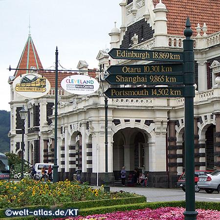 Historischer Bahnhof in Dunedin