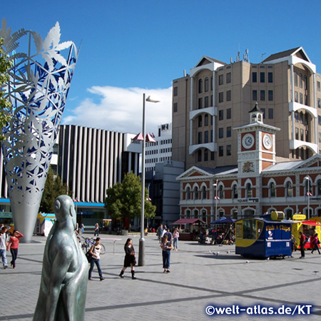 Cathedral Square, Christchurch, Neuseeland