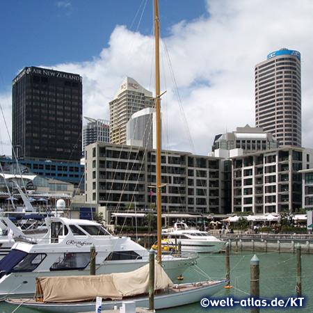 Am Hafen in Auckland