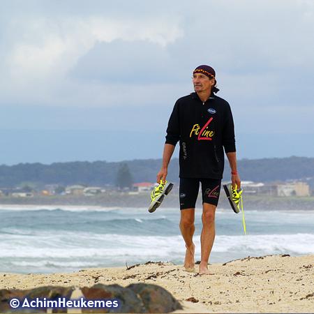Unterwegs in Australien am Meer –Photo des Extremsportler Achim Heukemes, Zehnfach-Triathlet, Ultraläufer - www.heukemes.net