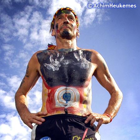 Achim Heukemes, a German Ultra Runner on the road in Australia