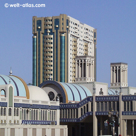 Shopping Mall, Blue Souk in Sharjah, VAE