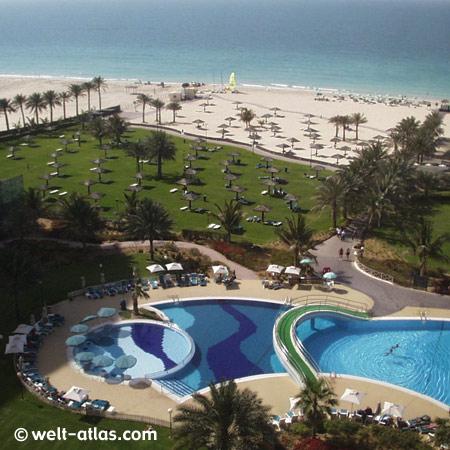 Dubai, Hotel am Jumeirah Beach