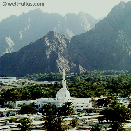 Auf dem Weg nach Hatta, Hajar-Gebirge
