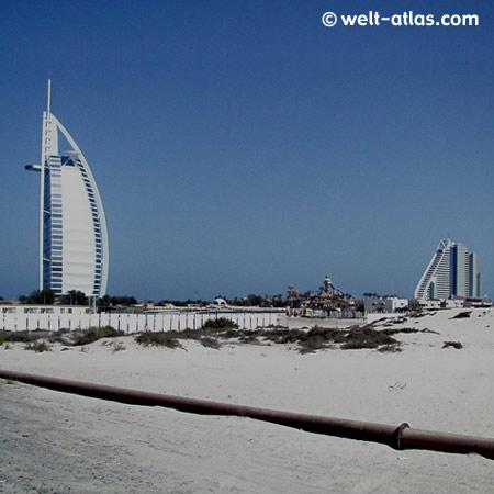 Burj al Arab, Dubai, Jumeirah Beach, VAE