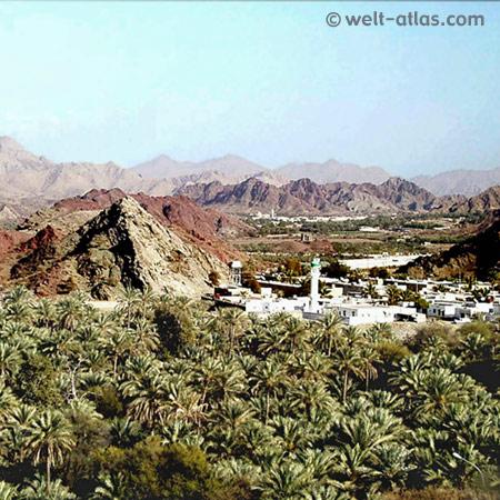Auf dem Weg nach Hatta, Hajar-Gebirge, Vereinigte Arabische Emirate VAE