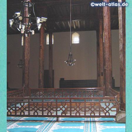 Inside the Esrefoglu Mosque, Beyşehir