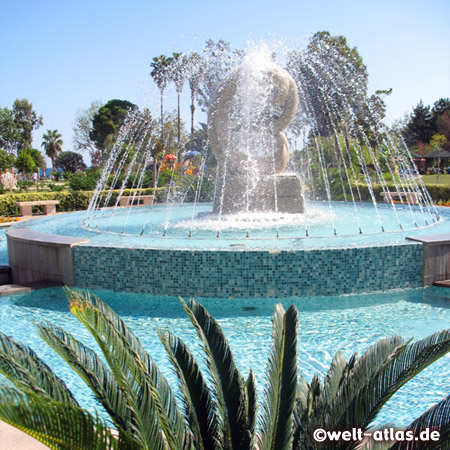 New Fountain at Olbia Park