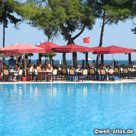 Pool Bar eines Hotel in Kemer