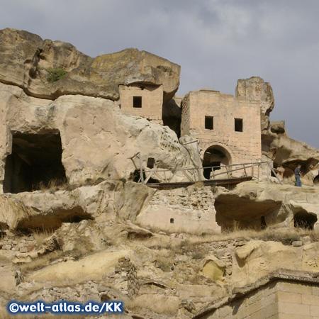Höhlenwohnungen in Kappadokien