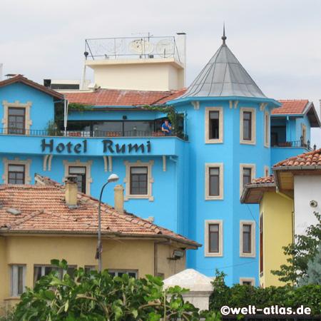 Rumi Hotel, blue Hotel in Konya near Mevlana Museum
