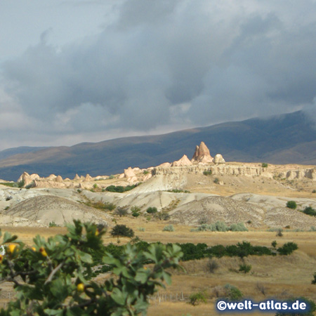 Cappadocia, in the late afternoon