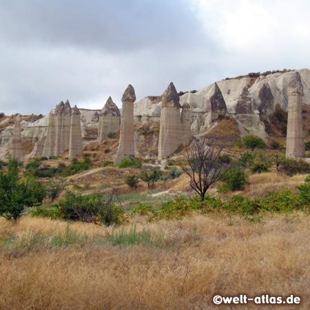 Love Valley, Ask Vadisi in Cappadocia with phallus-looking rocks