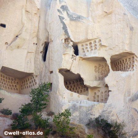 Taubenhäuser im Meskendir-Tal