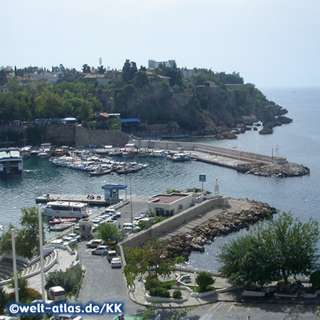 Alter Hafen von Antalya, Türkische Riviera