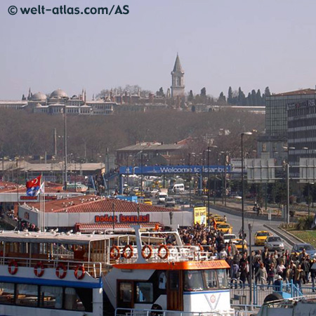 Fähranlieger Eminönü / Istanbul