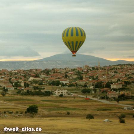 Fahrt mit dem Heissluftballon, ein beeindruckendes Erlebnis