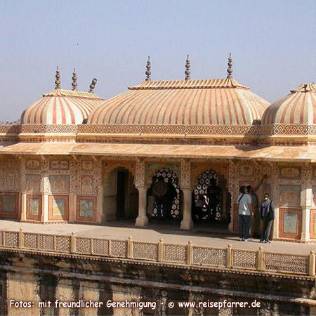 "Amber Fort at Jaipur, also called ""Pink City"" of RajasthanFoto:© www.reisepfarrer.de"