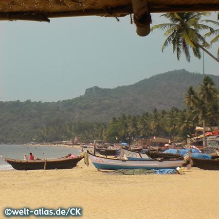 Beautiful Palolem Beach, Goa
