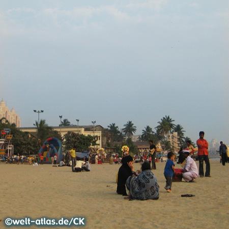 Mumbai (Bombay), Chowpatty Beach