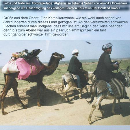 KamelkarawaneFotoreportage: Afghanistan Leben & Sehen, Autor: Veronika Picmanova, Reihe:dpi weitere Informationen - http://www.awl.de/9783827328434.html oder http://blog.addison-wesley.de/archives/5751