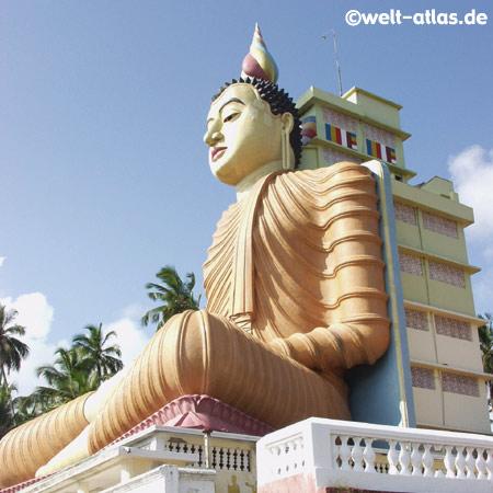 Buddhastatue,Wewurukannala Vihara Tempel