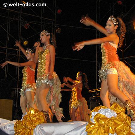 Schulorchester, champ of the champs, Sängerinnen, Tänzer, Koh Samui, Thailand