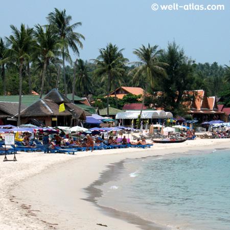 Strand von Choeng Mon, Koh Samui, Thailand