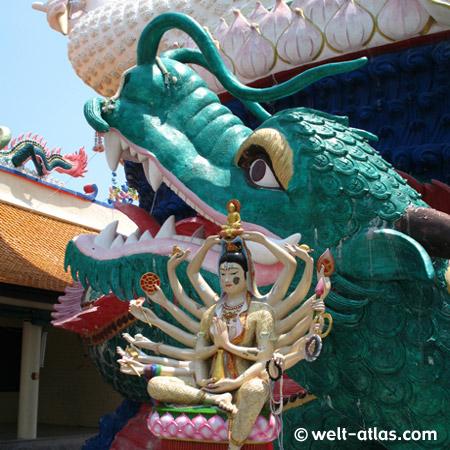 Wat Plai Laem, Koh Samui, Thailand