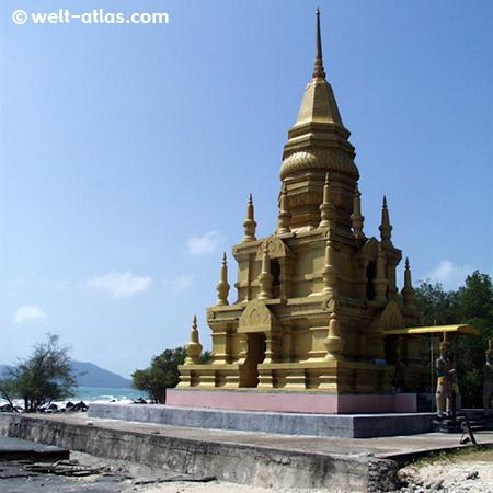 Pagoda Laem Sor Chedi, Koh Samui, Thailand
