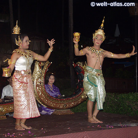Tanzdarbietung, Koh Samui
