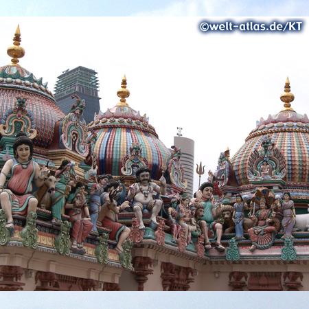 Sri Mariamman Tempel, Singapur