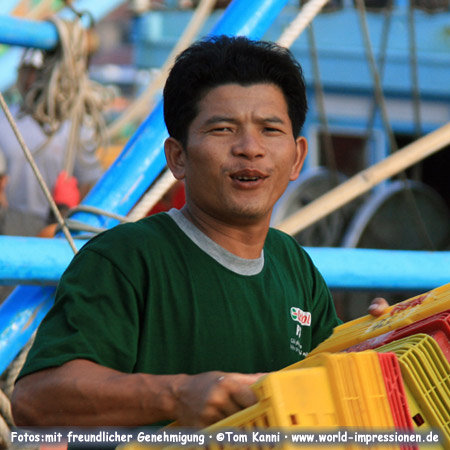 Man at the Fish Market, Phan Thiet