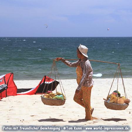 Mui Ne Beach with kites