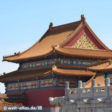 Verbotene Stadt, Beijing, seit 1987 zum UNESCO Weltkulturerbe