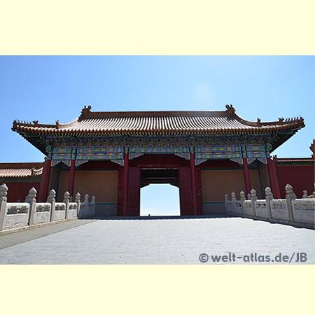 Tor, Verbotene Stadt, Beijing