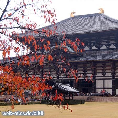 Tōdai-ji, buddhistischer Tempel in der alten Kaiserstadt Nara auf der Insel Honshu nahe Osaka