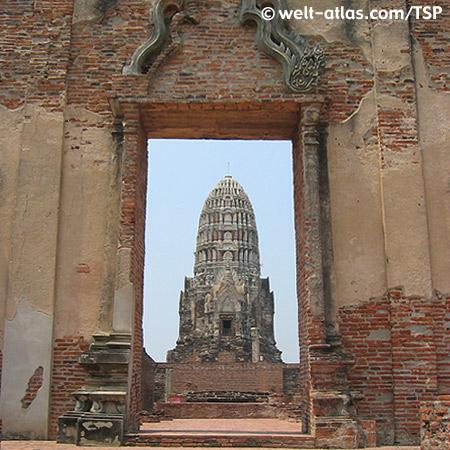 Ayutthaya, Wat Raja Burana, Thailand