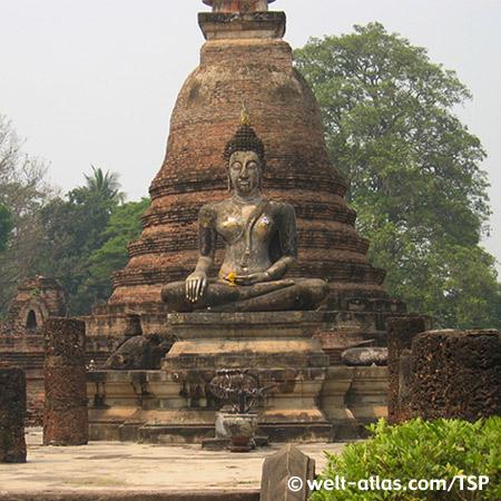 Sukhothai, Wat Mahathat, Thailand